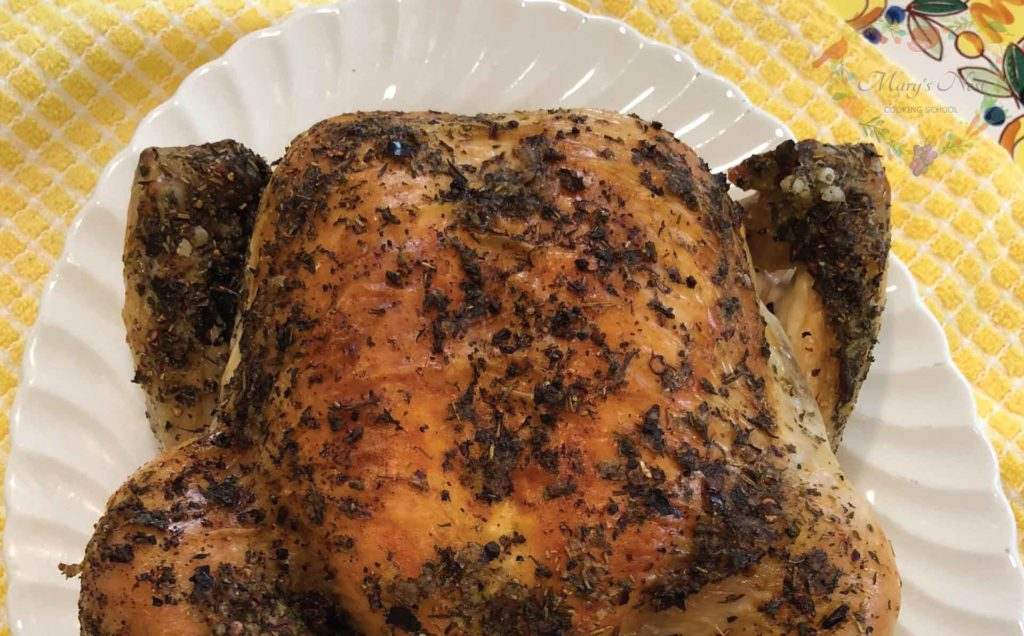 Mary's Nest Roast Chicken