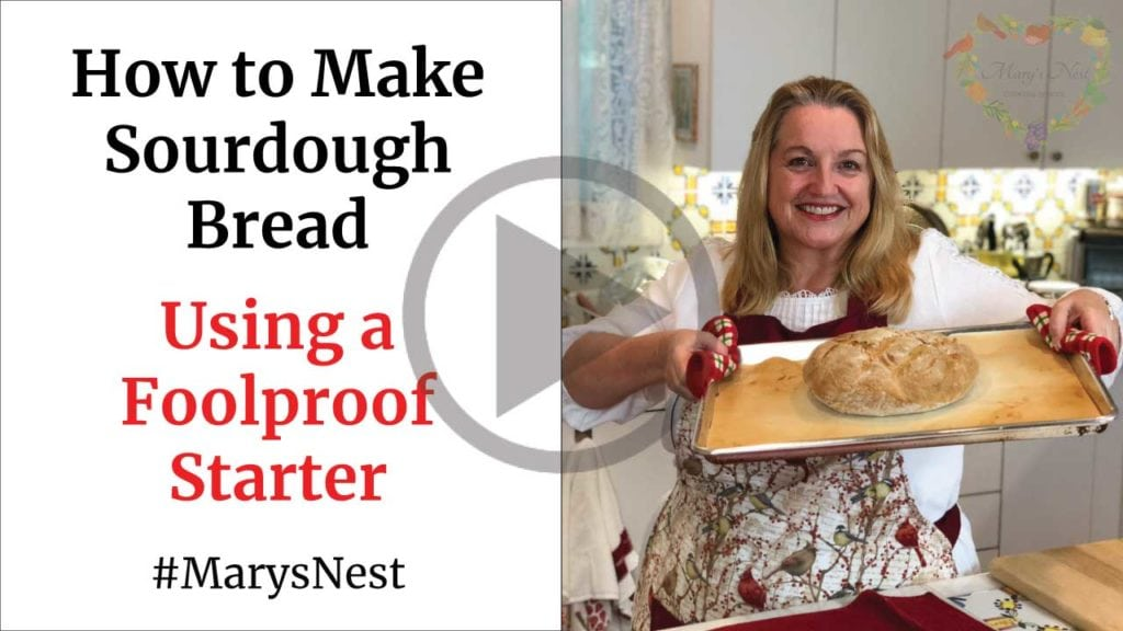 How To Make Sourdough Bread Using a Foolproof Starter video