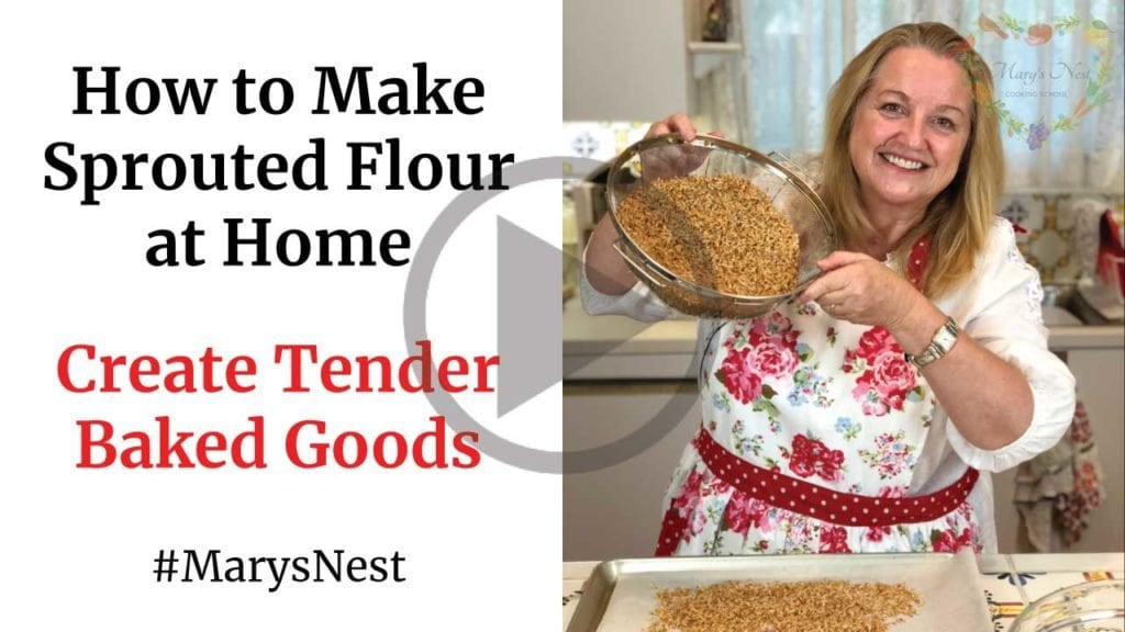 How to Make Sprouted Flour at Home YouTube Video
