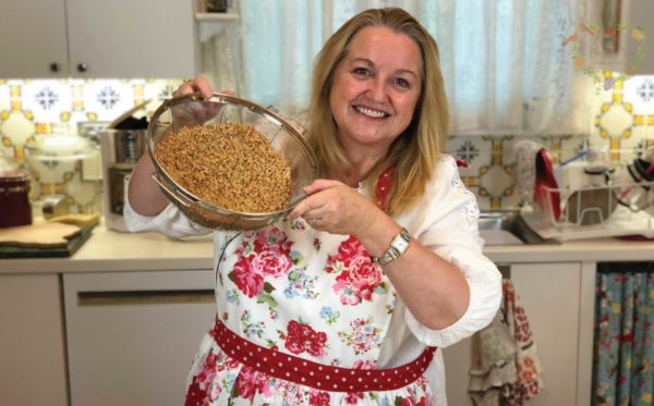 Mary's Nest How to Make Sprouted Flour