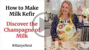 Mary's Nest Milk Kefir YouTube