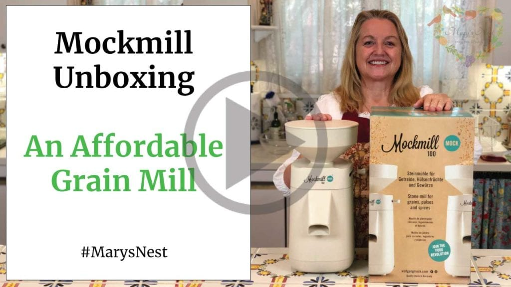 Mockmill 100 Unboxing YouTube Video