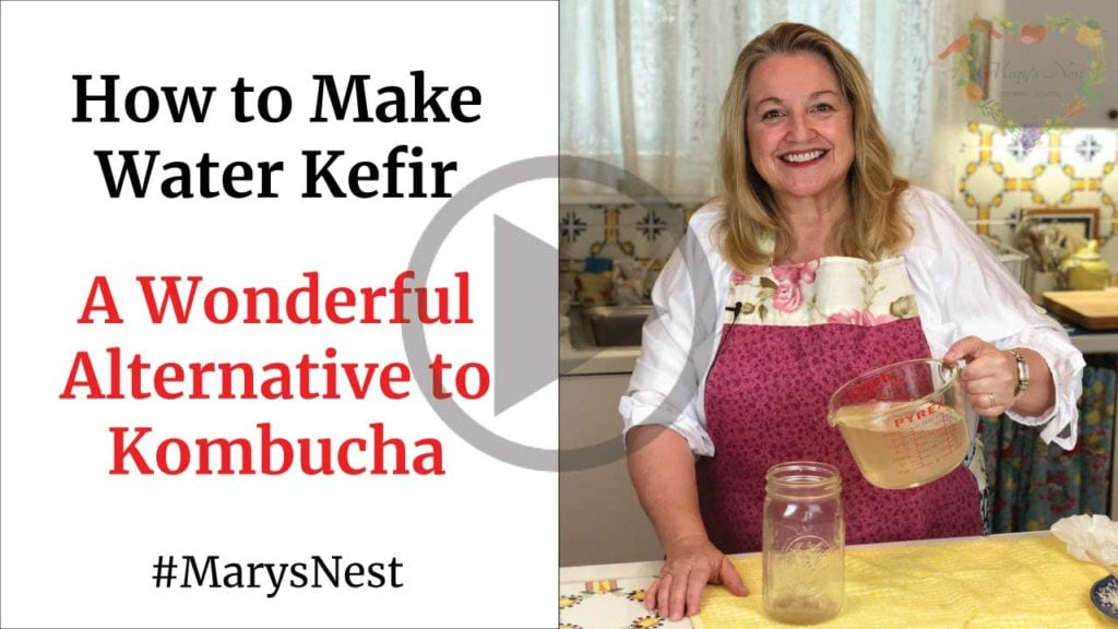 Mary's Nest Making Water Kefir YouTube