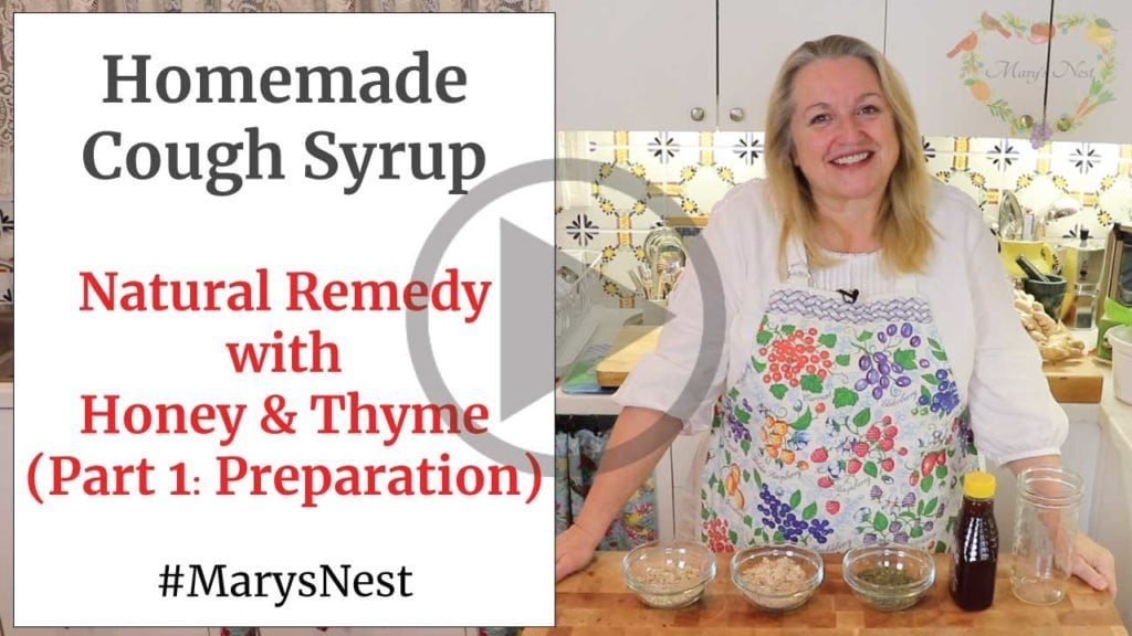 Homemade Cough Syrup Remedy Preparation Video