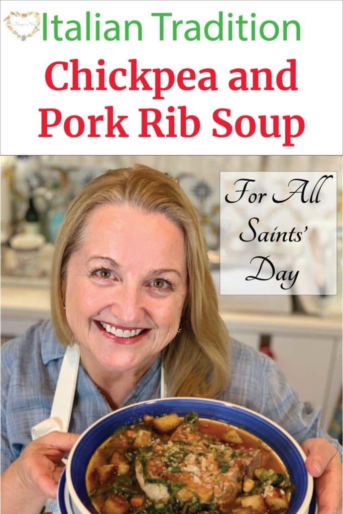 Chickpea and Pork Rib Soup Recipe Social Media