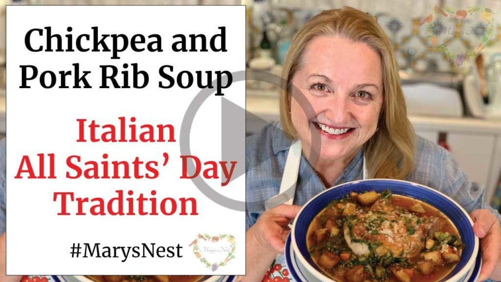 Chickpea and Pork Rib Soup Recipe Video