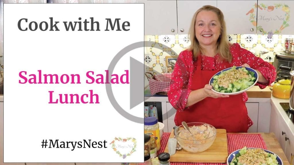 Cook with Me Salmon Salad Video
