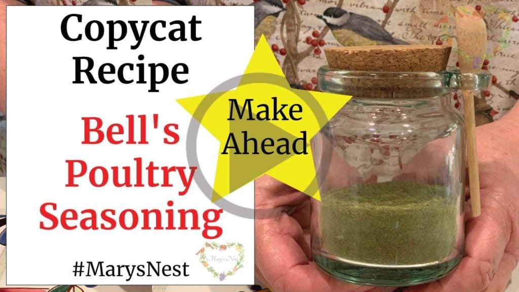 Bell's Poultry Seasoning Copycat Recipe Video