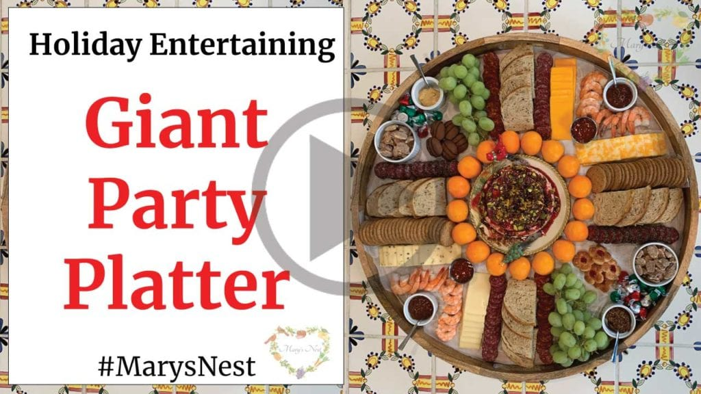 Giant Party Platter For Holiday Entertaining Video