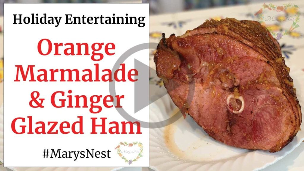 Orange Marmalade and Ginger Glazed Ham Recipe Video