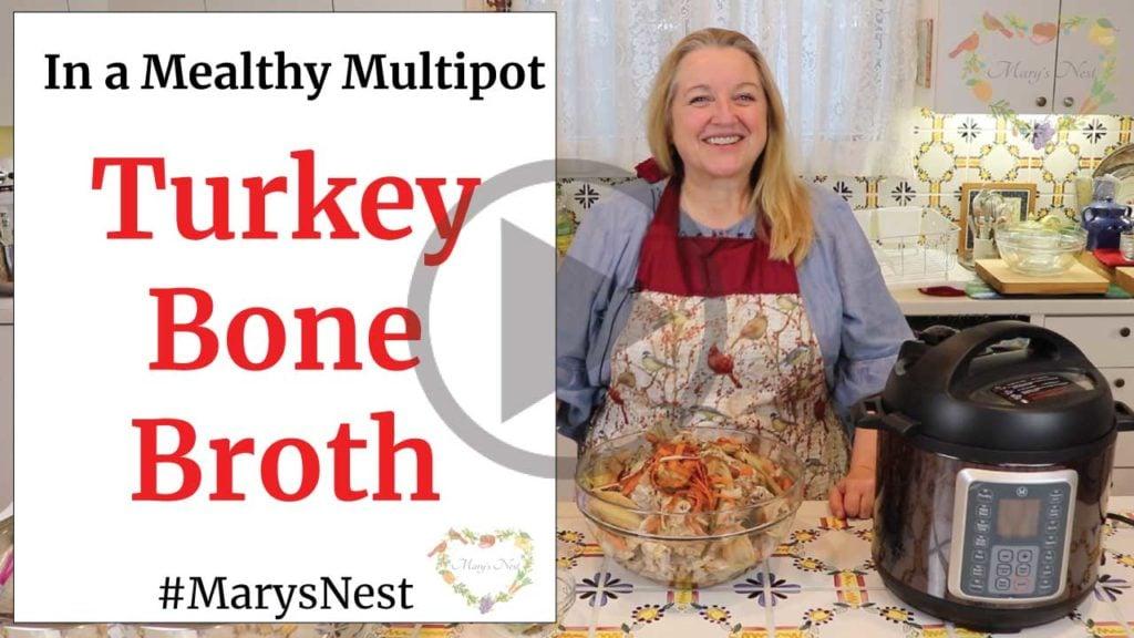 Turkey Bone Broth Mealthy Multipot Video
