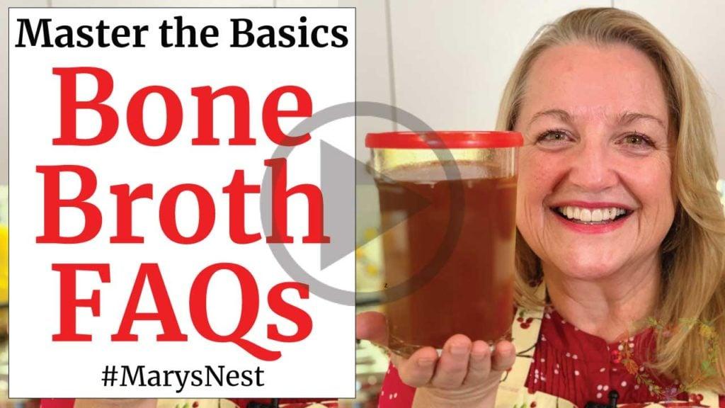 Bone Broth FAQs Video