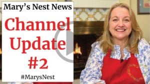 Channel Update, Beef Bone Broth, and More - News from Mary's Nest Video