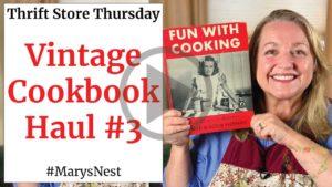 Vintage Cookbook Haul #3 - A Very Special Children's Cookbook Video