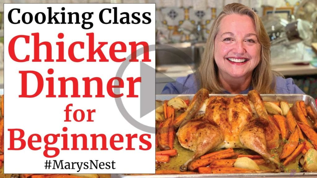 Chicken Sheet Pan Dinner Recipe for Beginners Video