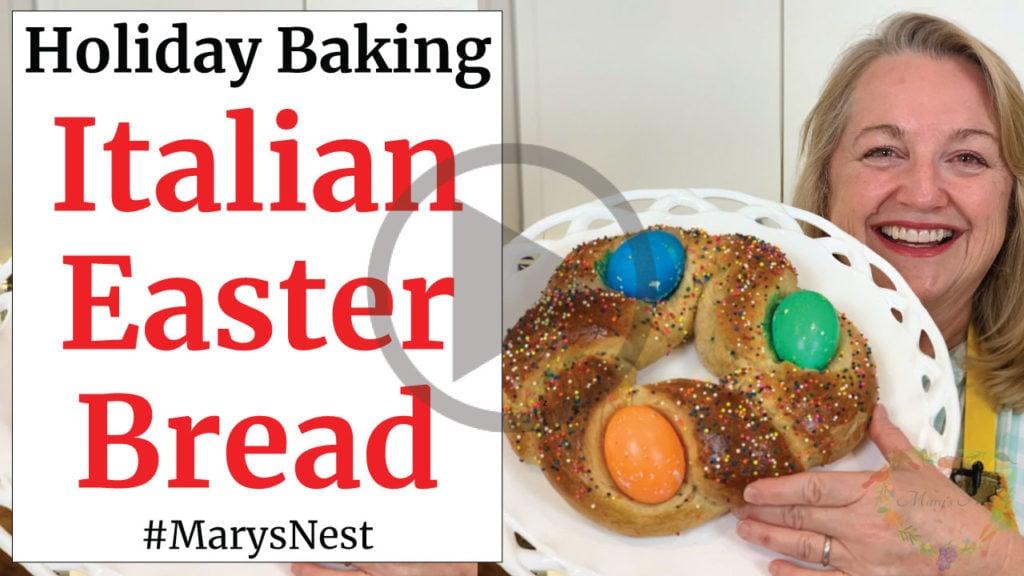 Italian Easter Bread Recipe Video
