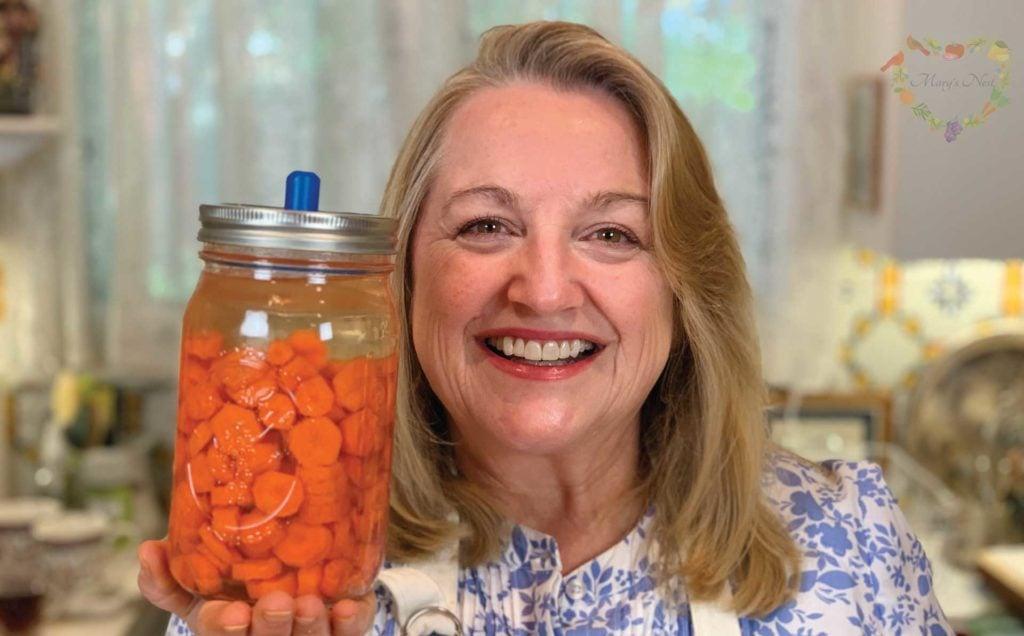 Marys Nest Probiotic Rich Fermented Carrots