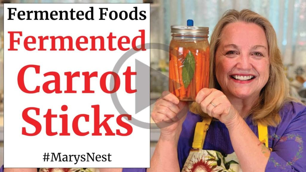 Fermented Carrot Sticks Recipe Video