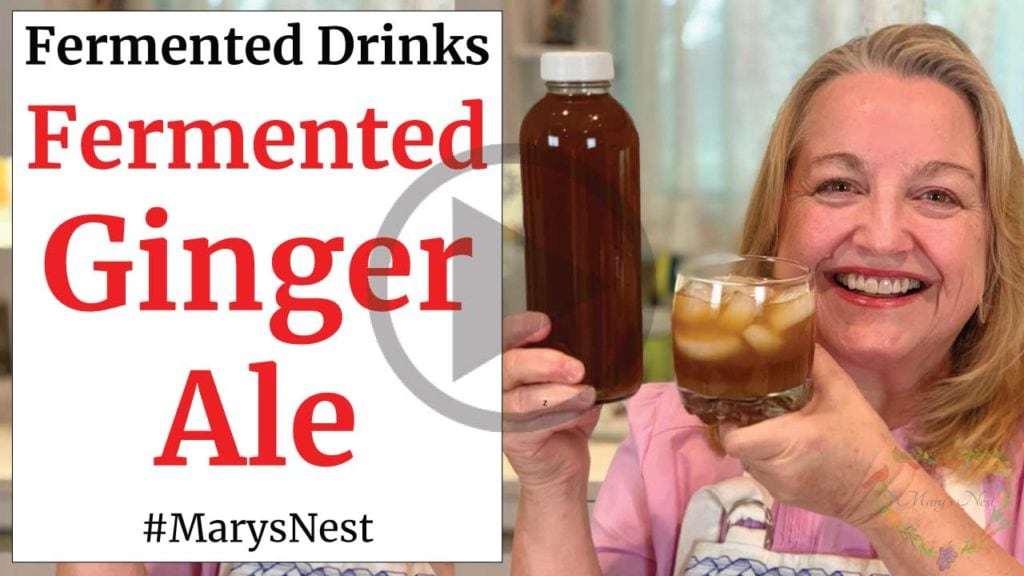 Homemade Fermented Ginger Ale Recipe Video