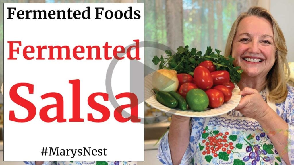 Fermented Salsa Recipe Video