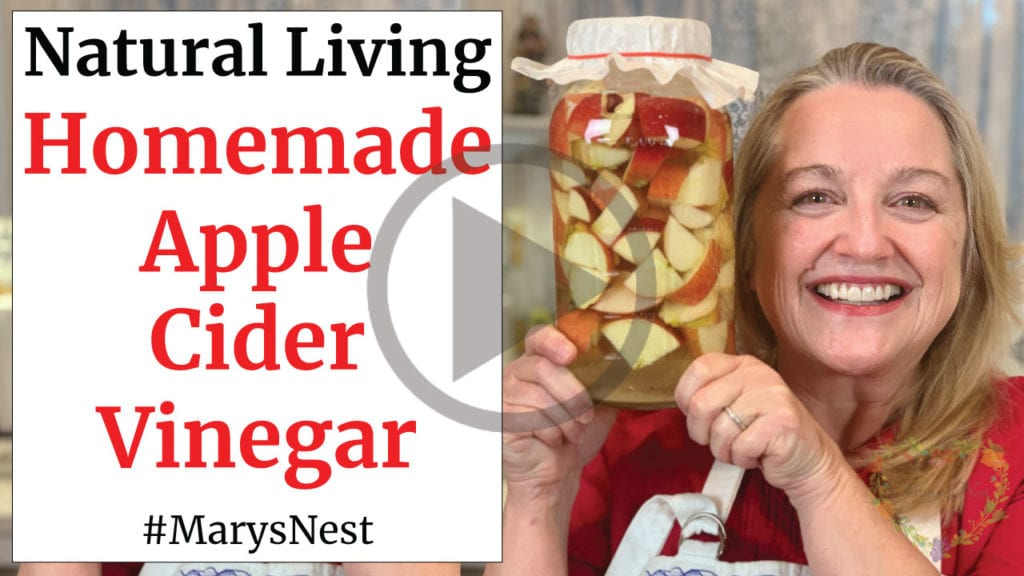How to Make Homemade Apple Cider Vinegar with the Mother Video