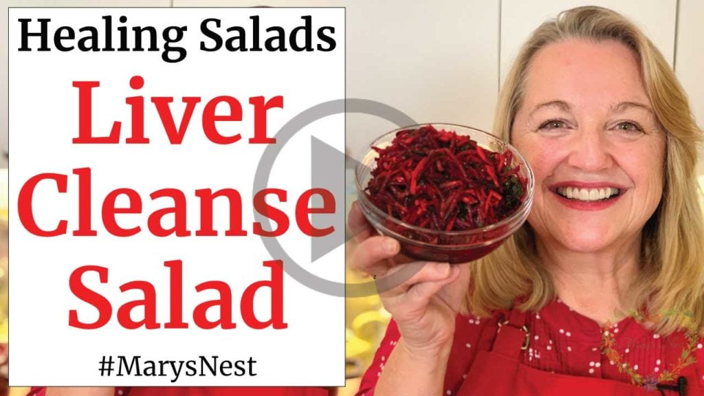 Liver Cleanse Salad Recipe Video