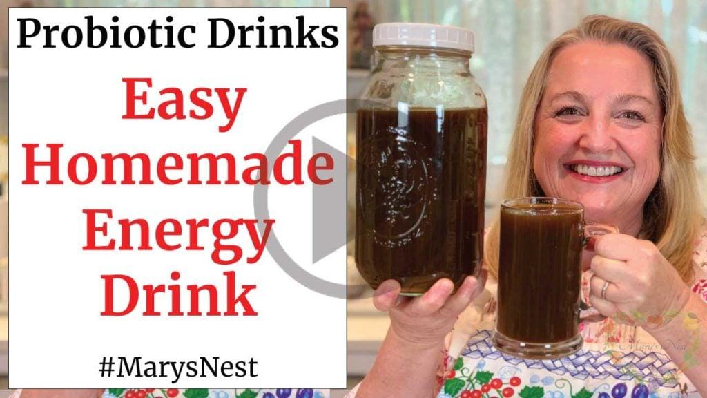 Easy Homemade Energy Drink Switchel Recipe Video