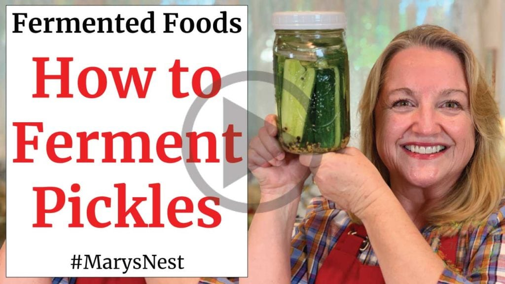 How to Ferment Pickles Recipe Video