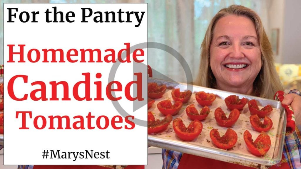 How to Make Candied Tomatoes Recipe Video