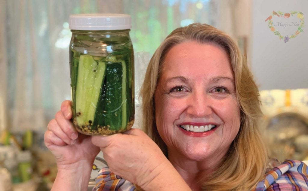Marys Nest How to Ferment Pickles Recipe