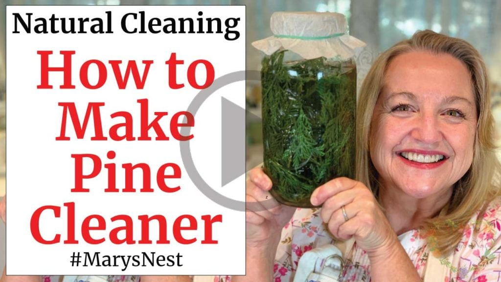 How to Make Pine Cleaner Video