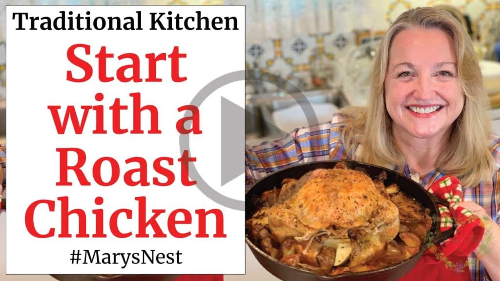Start With A Roast Chicken In Cast Iron Recipe Video