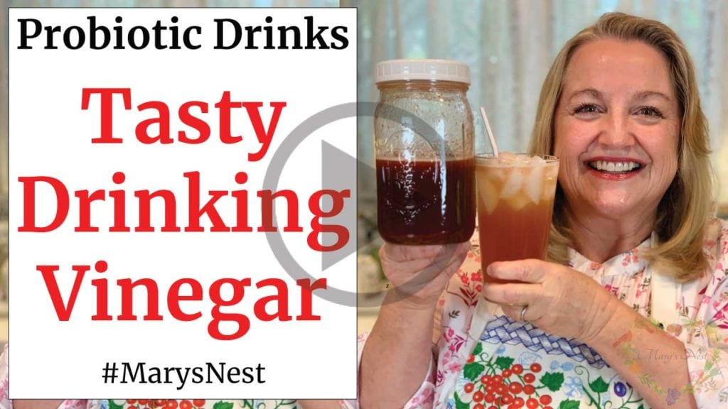 Tasty Drinking Vinegar Shrub Recipe Video