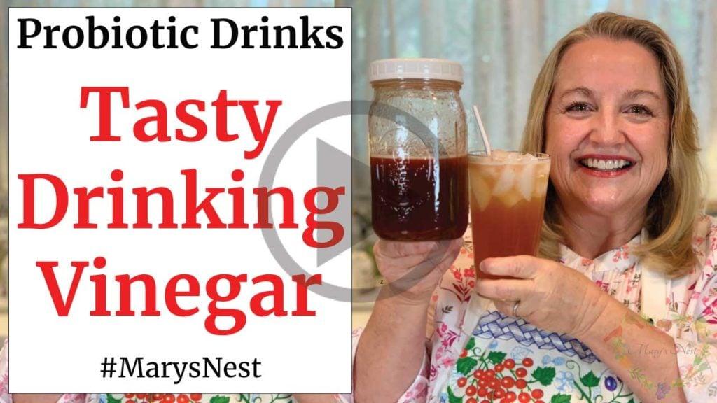 Tasty Drinking Vinegar Shrub Recipe Video