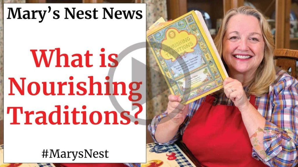 What is Nourishing Traditions Video