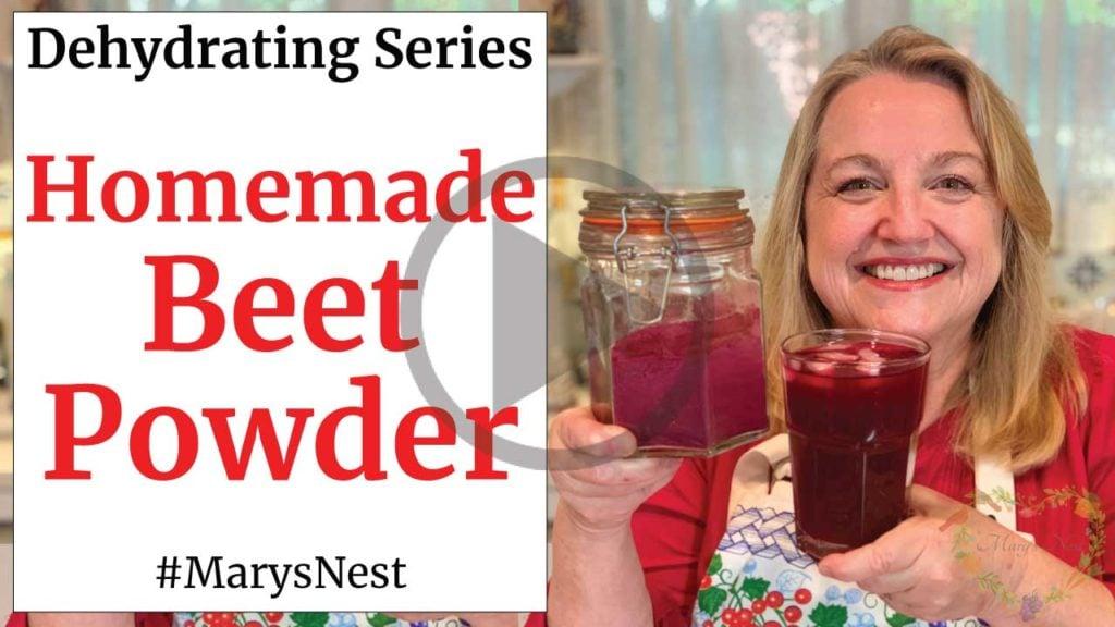 Best Beet Powder Drink Recipe Video