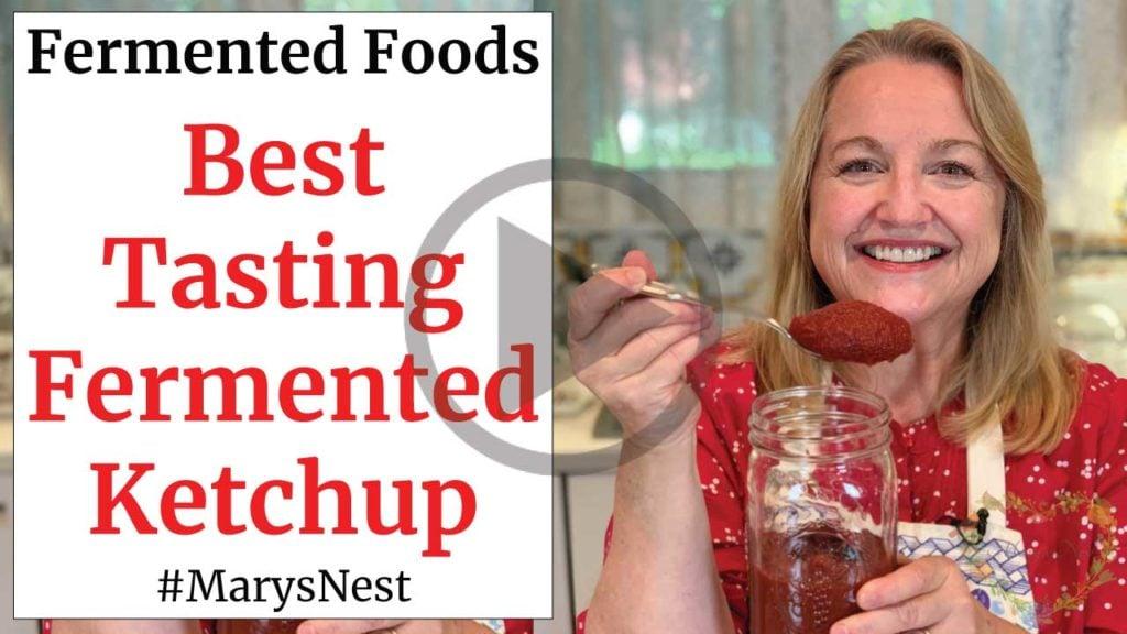 Best Tasting Fermented Ketchup Recipe Video