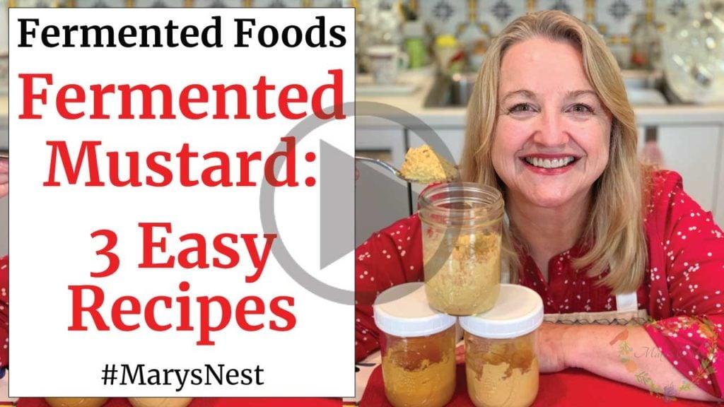 Fermented Mustard Three Tasty Recipes Video