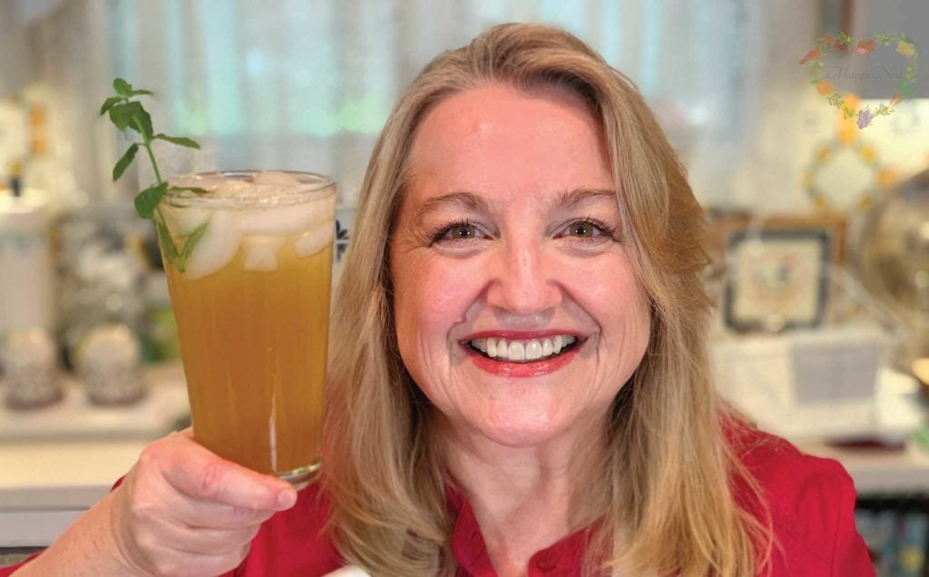 Marys Nest Pineapple Mint Shrub Mocktail Recipe