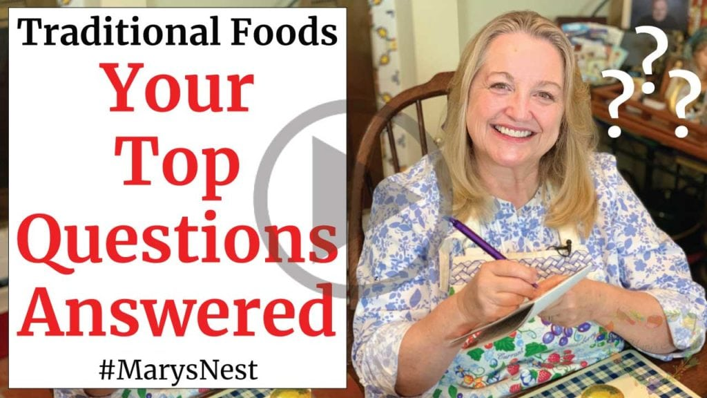 Traditional Foods - Your Top Questions Answered video