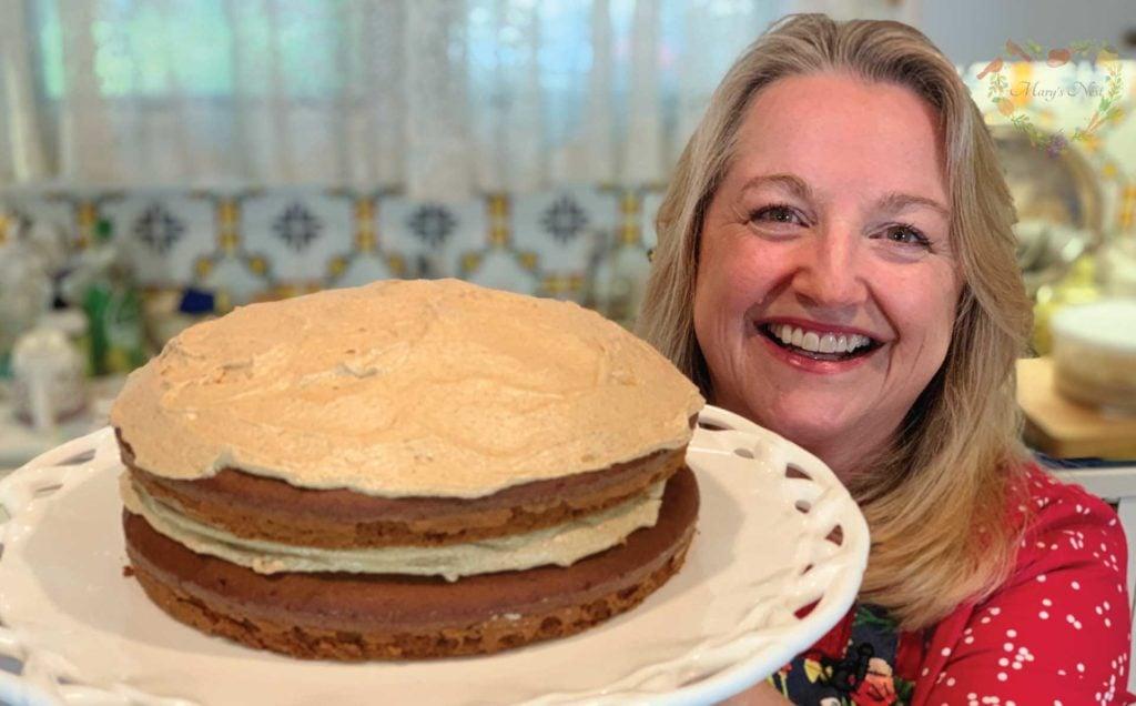 Einkorn Apple Butter Cake Recipe