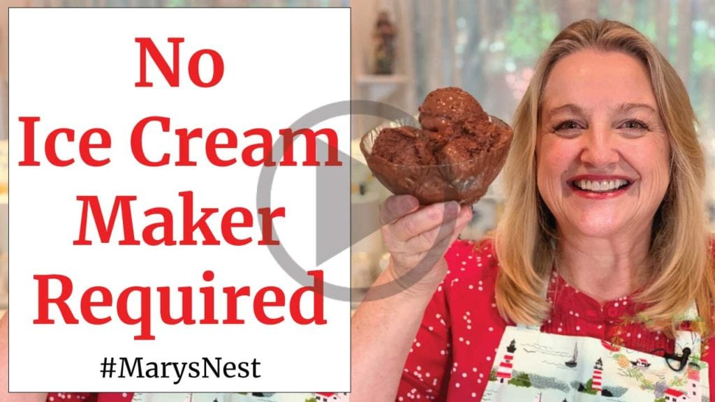 How To Make Homemade Ice Cream Without A Machine Mary S Nest