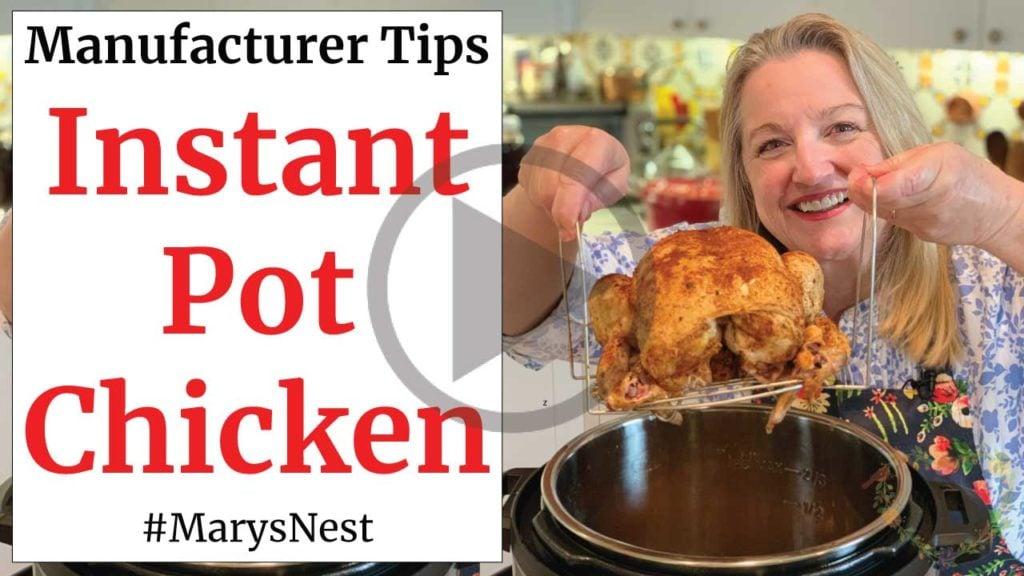 Instant Pot Chicken Recipe Video