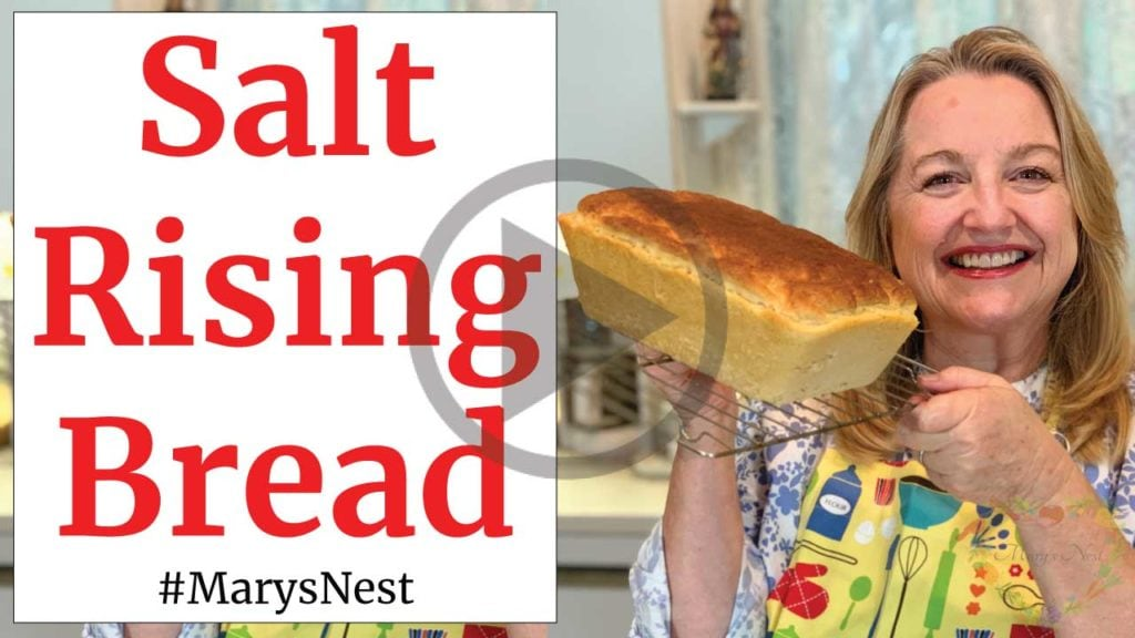 Salt Rising Bread Recipe Video