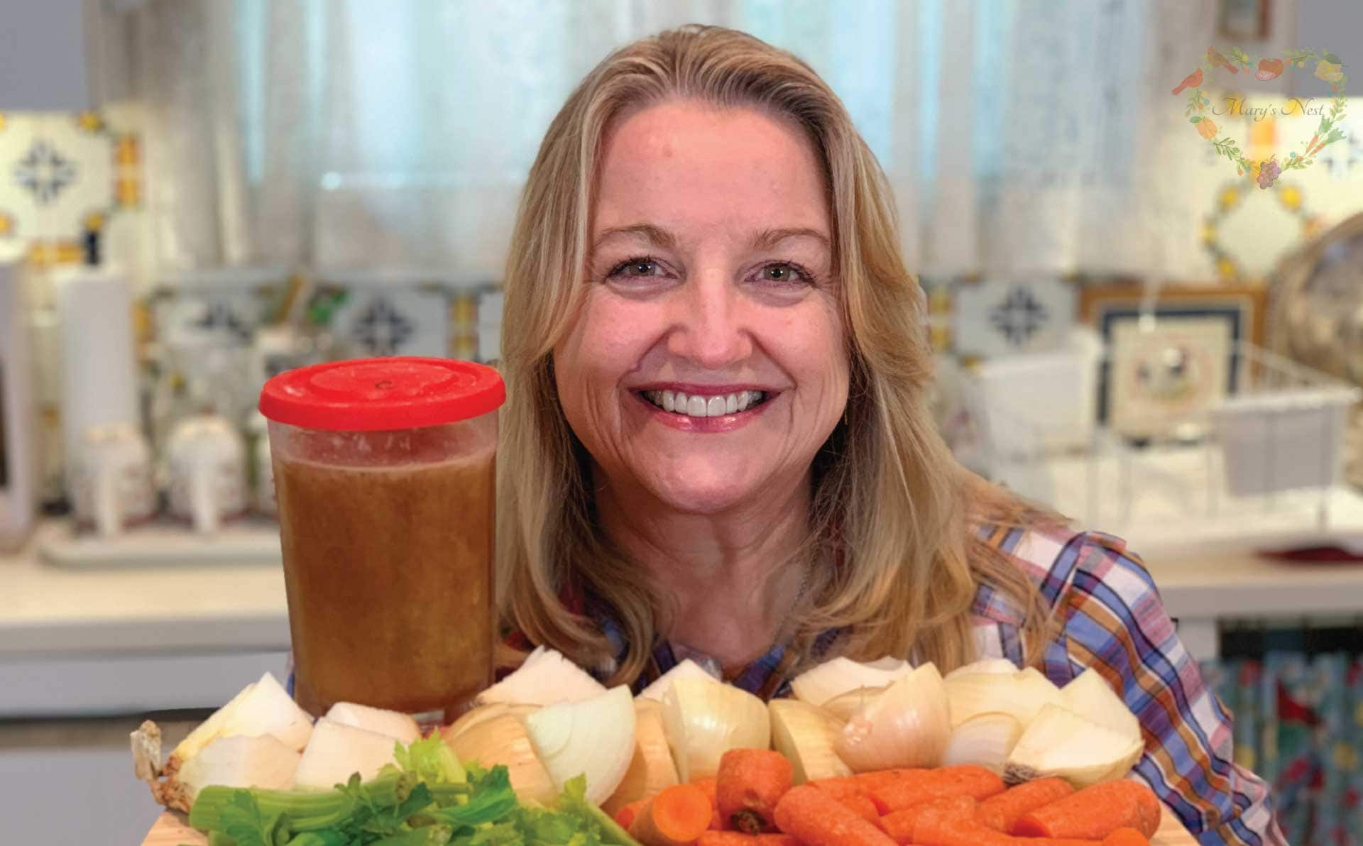 How To Make Stovetop Chicken Bone Broth Mary S Nest