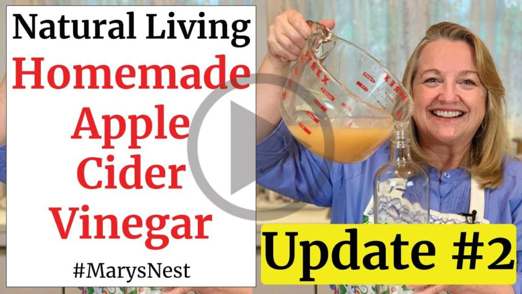 Homemade Apple Cider Vinegar Update 2 Video