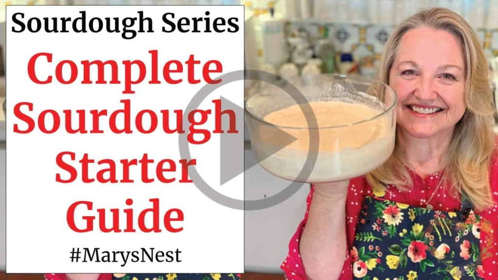Complete Sourdough Starter Guide Recipe Video