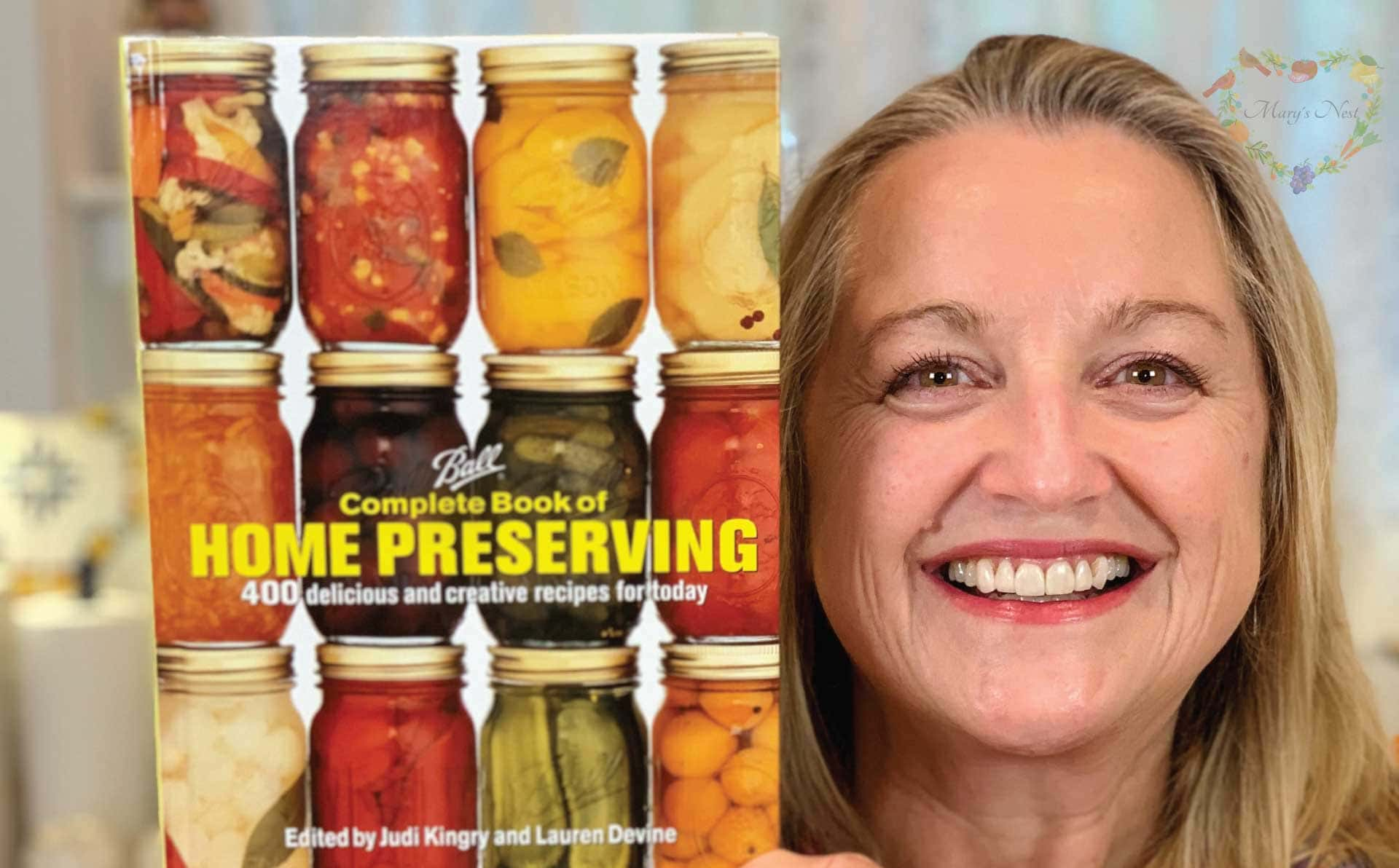 Books To Get You Started With Water Bath Canning Mary S Nest