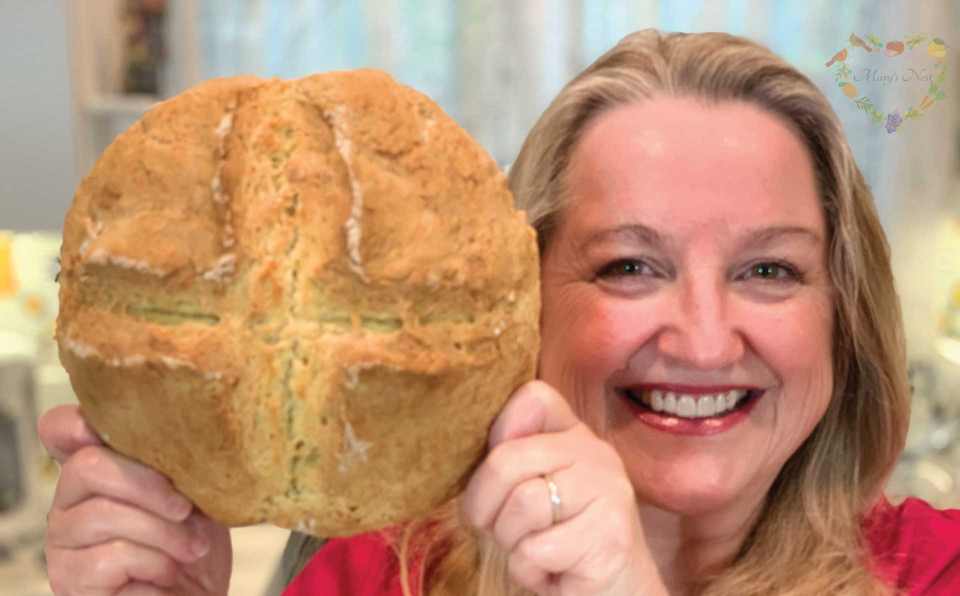 How To Make Bread Without Yeast Easy Irish Soda Bread Mary S Nest