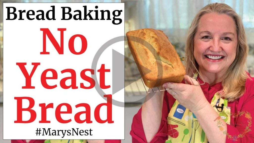 How To Make Bread Without Yeast Easy Quick Bread Mary S Nest